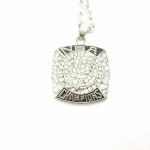 USA NBA Spurs 2014 Pendant Necklace Championship